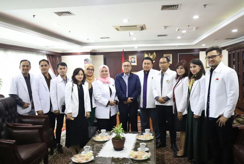 Ketua MPR RI Zulkifli Hasan bertemu perwakilan PDUI.