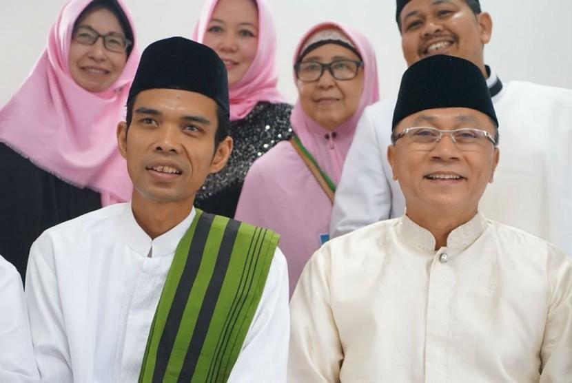 Ketua MPR Zulkifli Hasan dan Ustaz Abdul Somad
