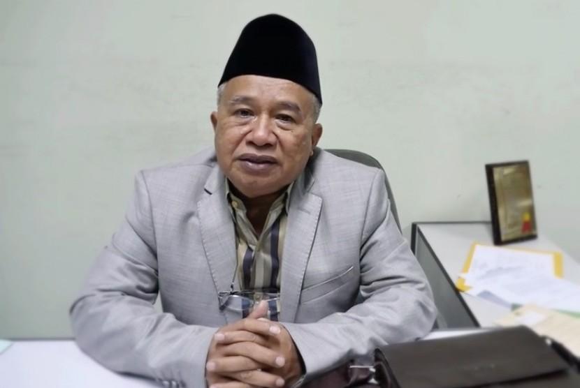 Ketua MUI bidang Hubungan Luar Negeri, KH Muhyiddin Junaidi