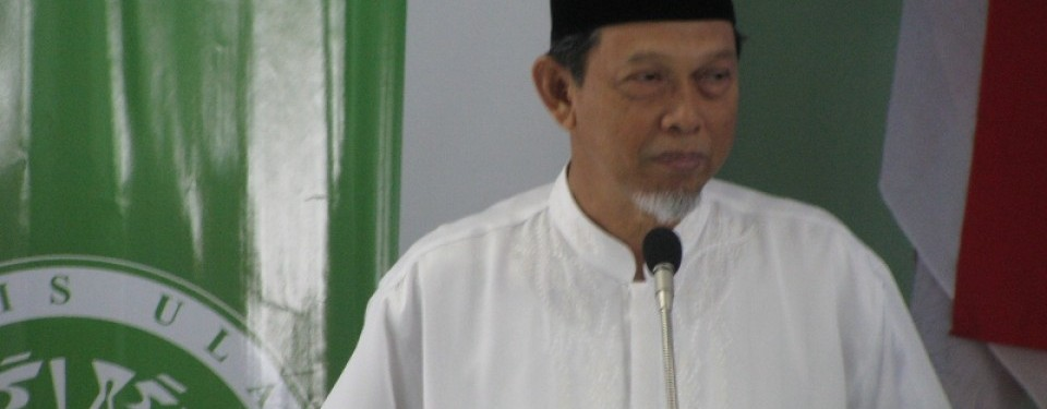 Ketua MUI KH Cholil Ridwan