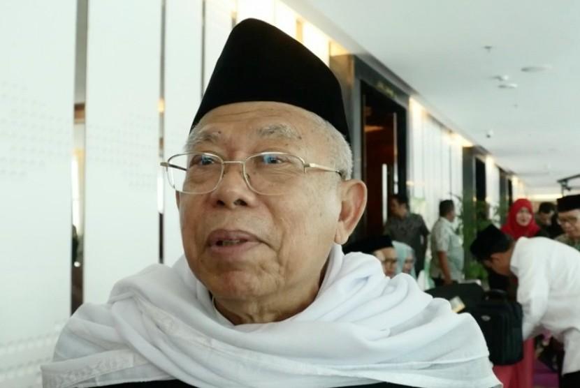 Ketua MUI, Ma'aruf Amin