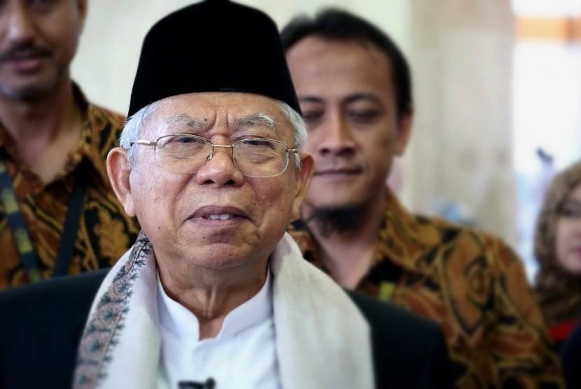 Ketua MUI, KH Ma'ruf Amin