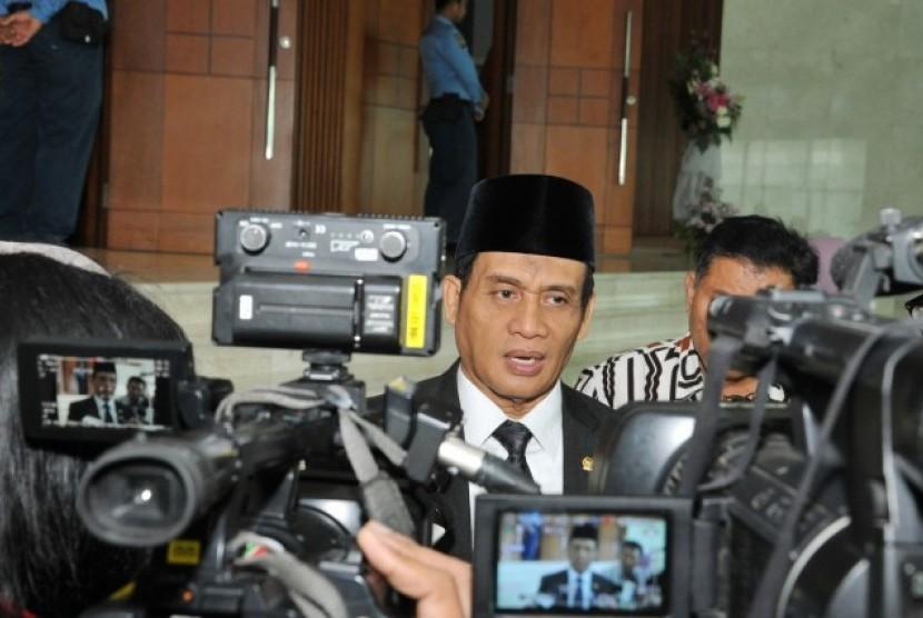 Ketua Panitia Khusus (Pansus) Revisi Undang-Undang (UU) Pemberantasan Tindak Pidana Terorisme (TPT), Muhammad Syafi'i.