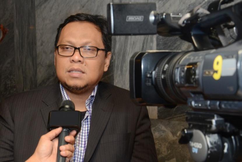 Ketua Panitia Khusus Rancangan Undang-Undang (Pansus RUU) Pemilihan Umum (Pemilu), Lukman Edy