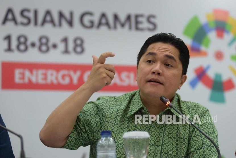 Ketua Pelaksana INASGOC Erick Thohir.