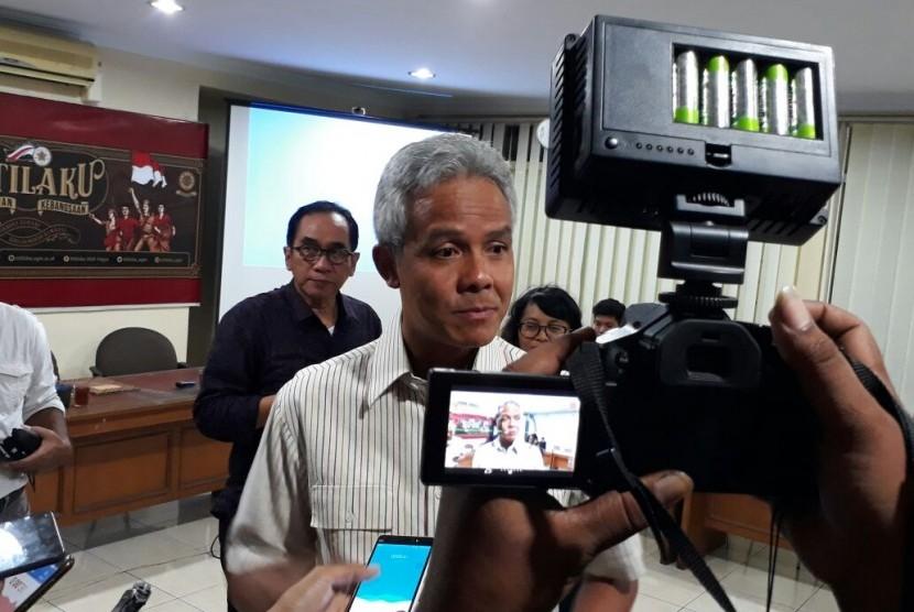 Ketua Pengurus Pusat Keluarga Alumni Universitas Gadjah Mada (Kagama), Ganjar Pranowo.