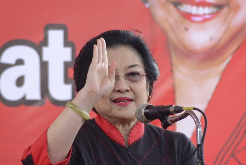 Ketua Umum DPP PDI Perjuangan Megawati Soekarno Putri.