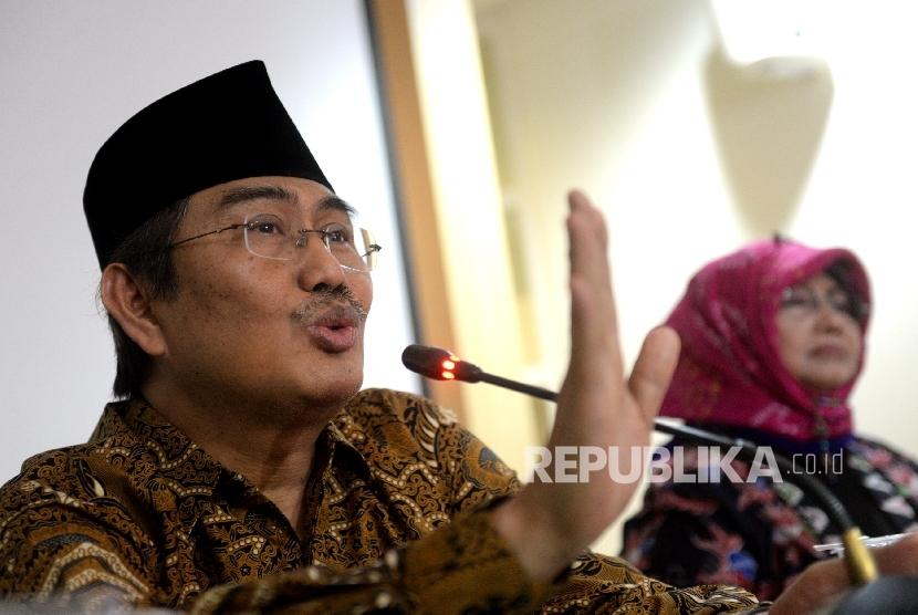 Ketua Umum Ikatan Cendekiawan Muslim Indonesia (ICMI) Jimly Asshiddiqie.