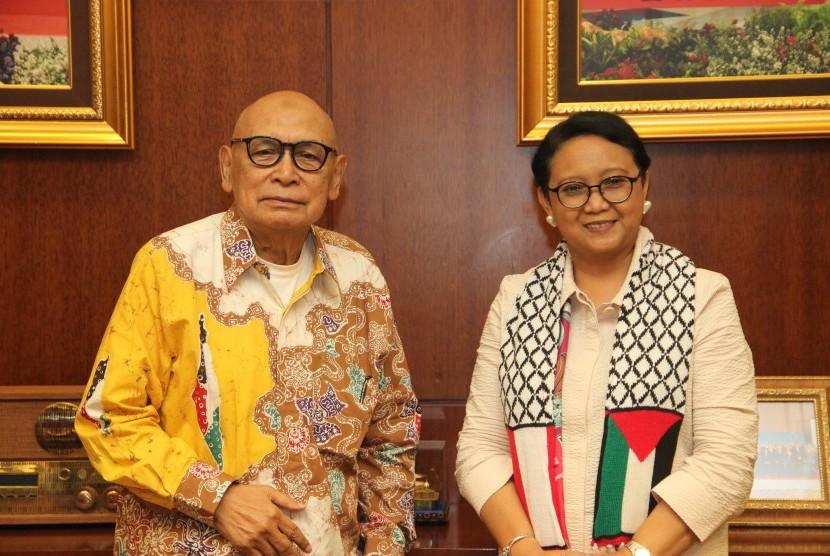 KNRP Temui Menlu Perkuat Persahabatan Indonesia-Palestina