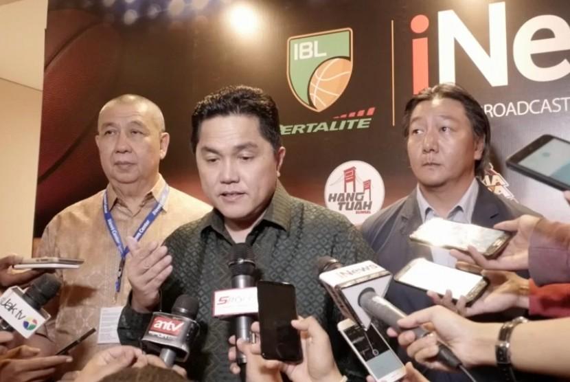 Ketua Umum Komite Olimpiade Indonesia (KOI) Erick Thohir