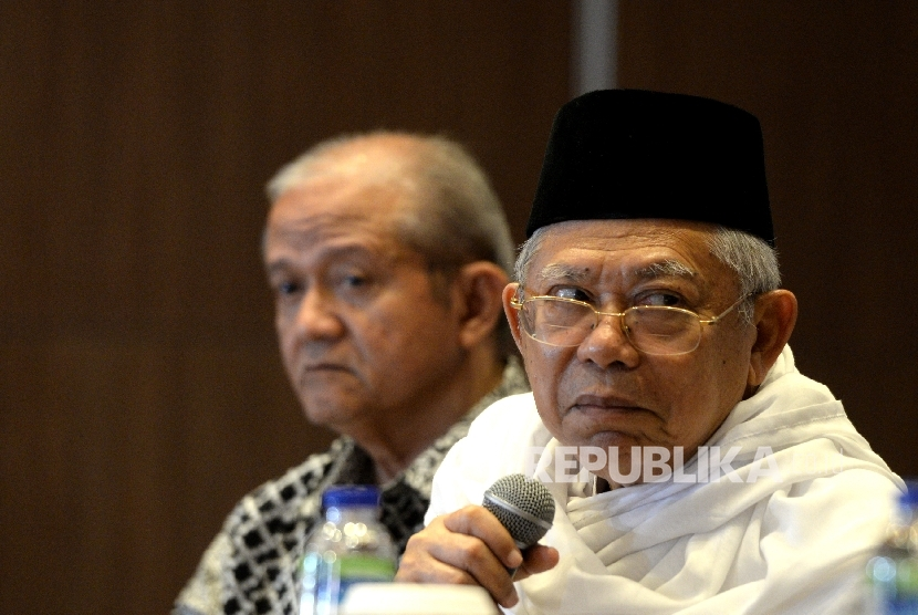 Ketua Umum MUI KH Maruf Amin