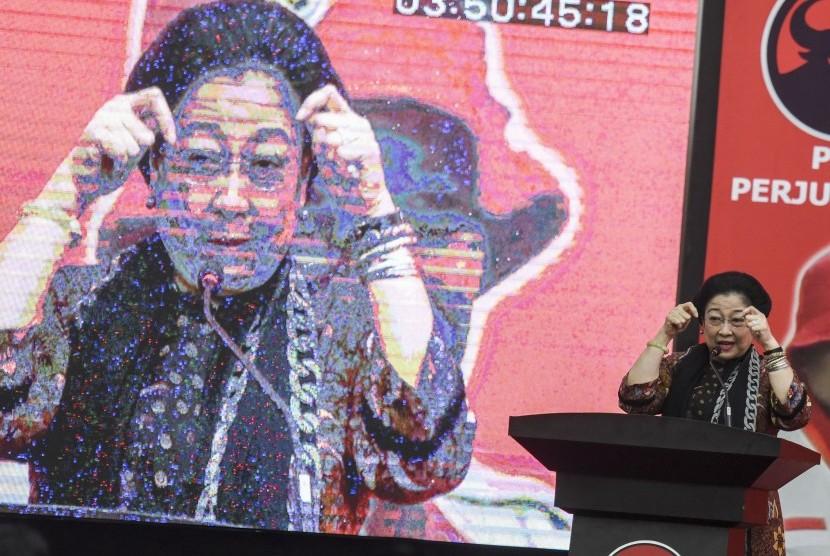 Ketua Umum PDI Perjuangan Megawati Soekarnoputri
