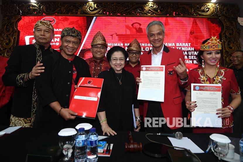 PDIP Kab Bandung Optimistis Menangkan TB Hasanudin-Anton