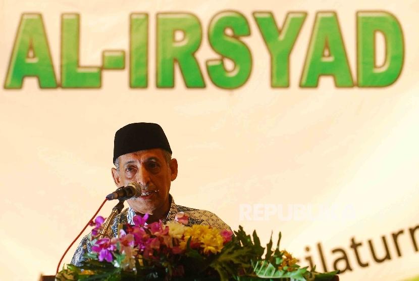 ketua Umum Pimpinan Pusat Al Irsyad Al Islamiyah, KH Abdullah Mubarak Al Jaidi