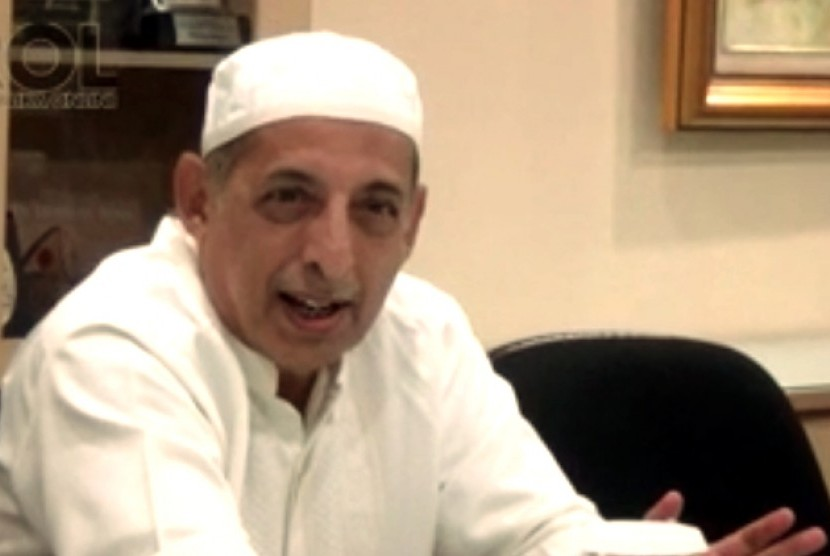 Ketua umum Pimpinan Pusat Al-Irsyad Al-Islamiyyah, KH Abdullah Djaidi