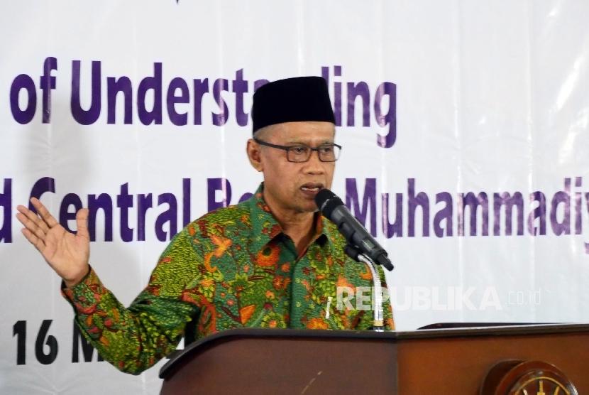 Muhammadiyah chairman Haedar Nashir
