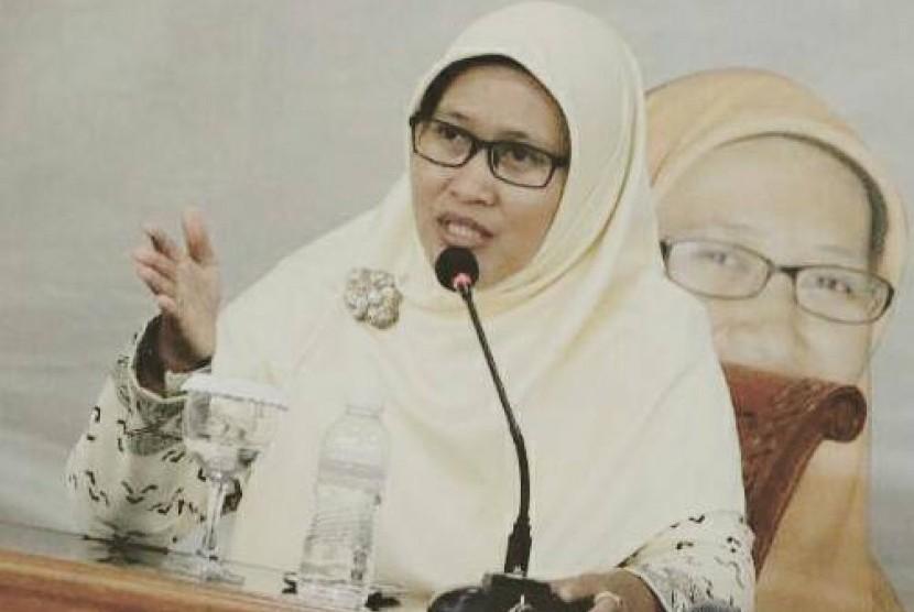 Ketua Umum Pimpinan Pusat Nasyiatul Aisyiyah, Diyah Puspitarini.