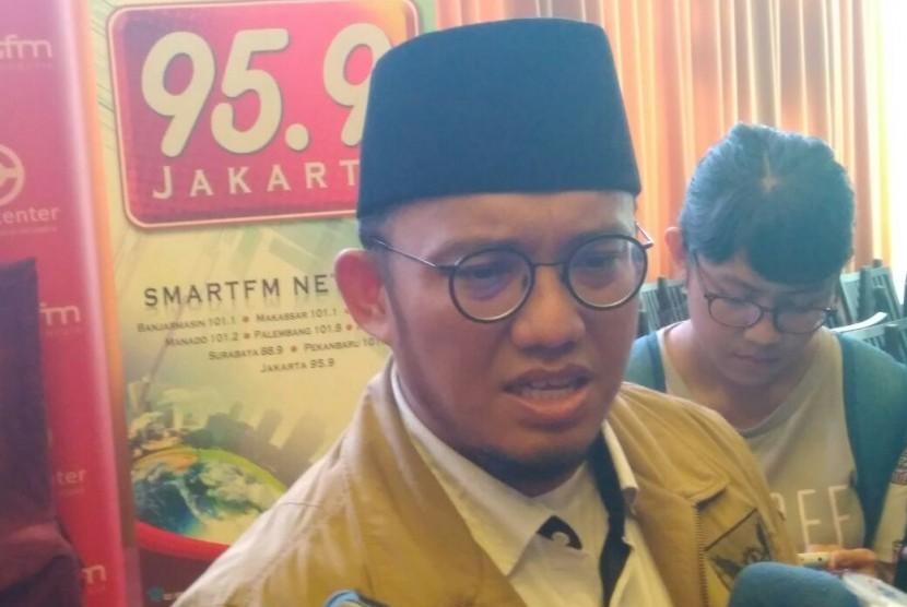 Ketua Umum Pimpinan Pusat Pemuda Muhammadiyah Dahnil Anzar Simanjuntak