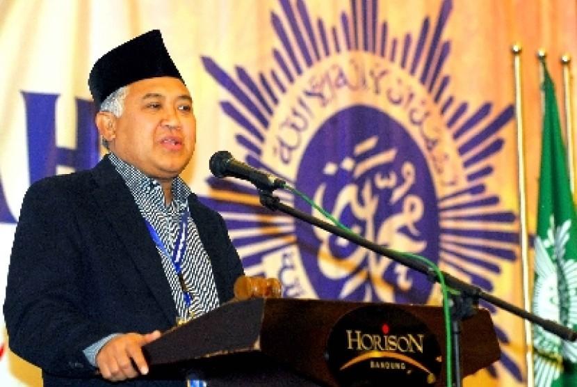 Ketua Umum PP Muhammadiyah, Din Syamsuddin.