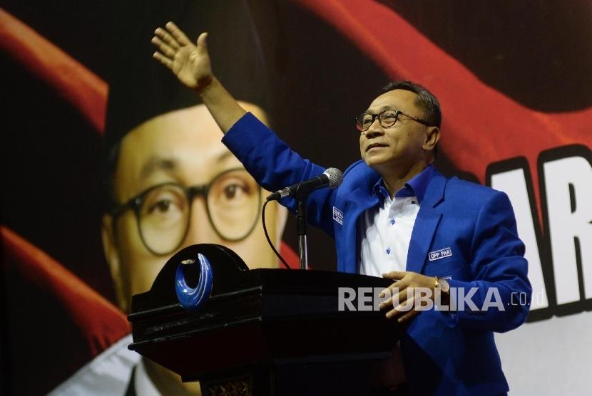 Ketum DPP PAN Zulkifli Hasan