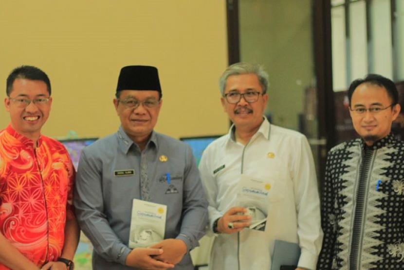 Klinik Pendidikan MIPA menggalar kegiatan seminar nasional di Kampus UPI Sumedang.