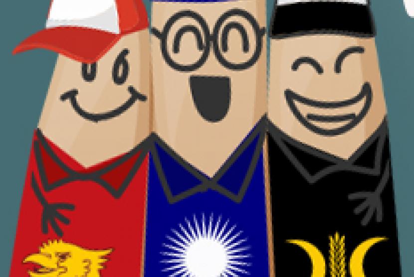 Coalition of Gerindra-PKS-PAN (Illustration)