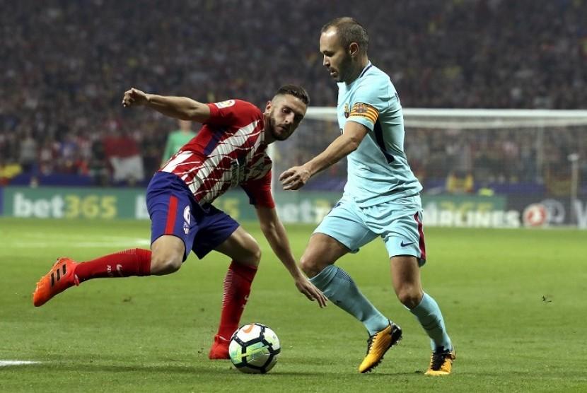 Gelandang Atletico Sebut Derby Madrid Selalu Spesial