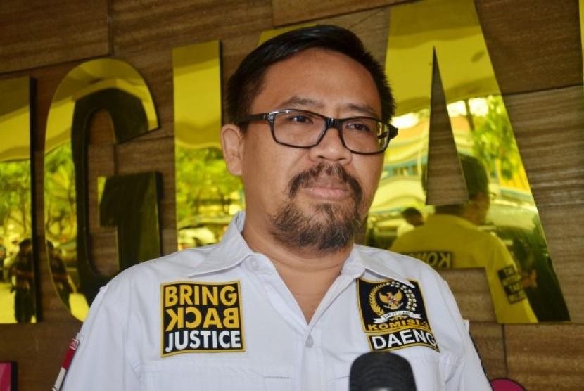 Komisi III DPR RI Daeng Muhammad