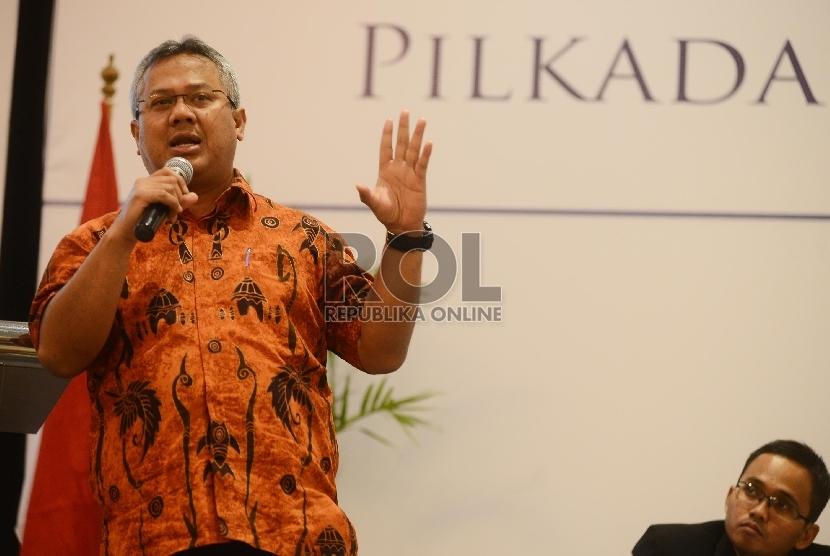 Komisioner Komisi Pemilihan Umum (KPU), Arief Budiman