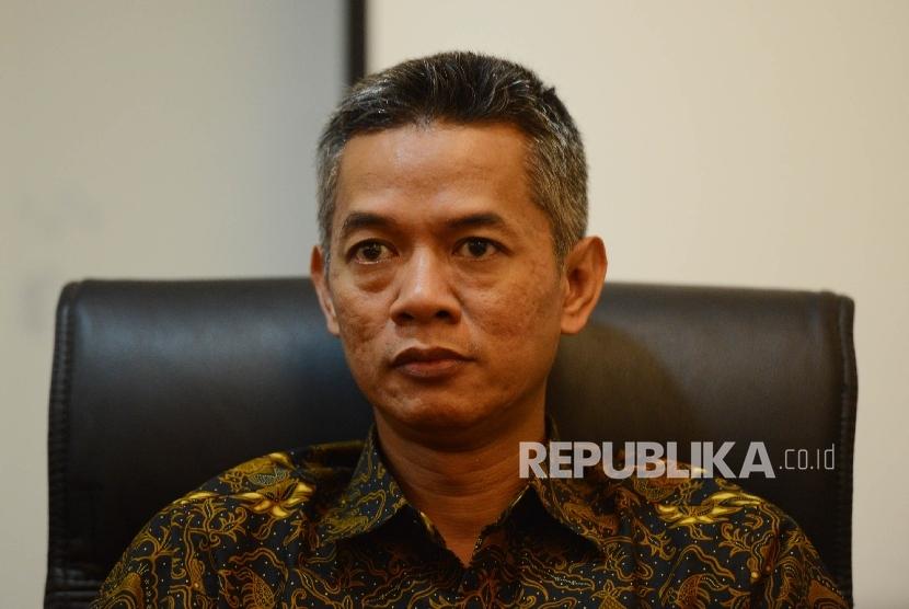 Komisioner Komisi Pemilihan Umum (KPU), Wahyu Setiawan.