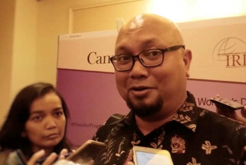 General Election Commission (KPU) commissioner, Ilham Saputra