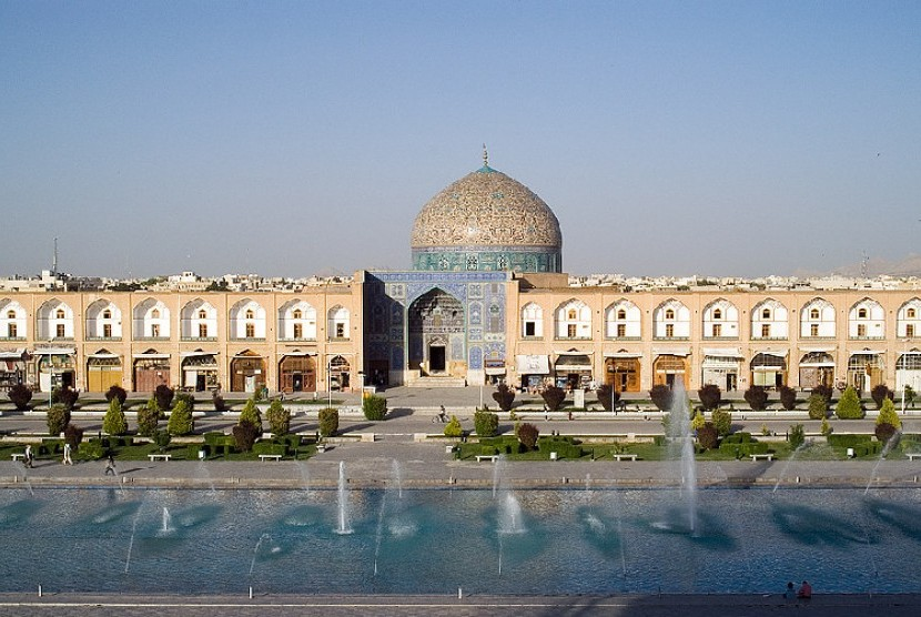 Kompleks Maidah Imam di Isfahan, Iran.