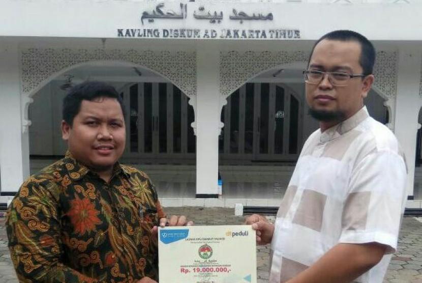 KSA Al Baits Serahkan Donasi Rohingya kepada DPU DT