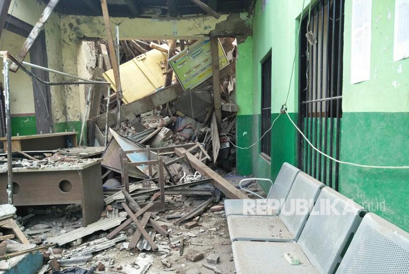 Guru Berharap Renovasi SMP 32 Jakarta Disegerakan