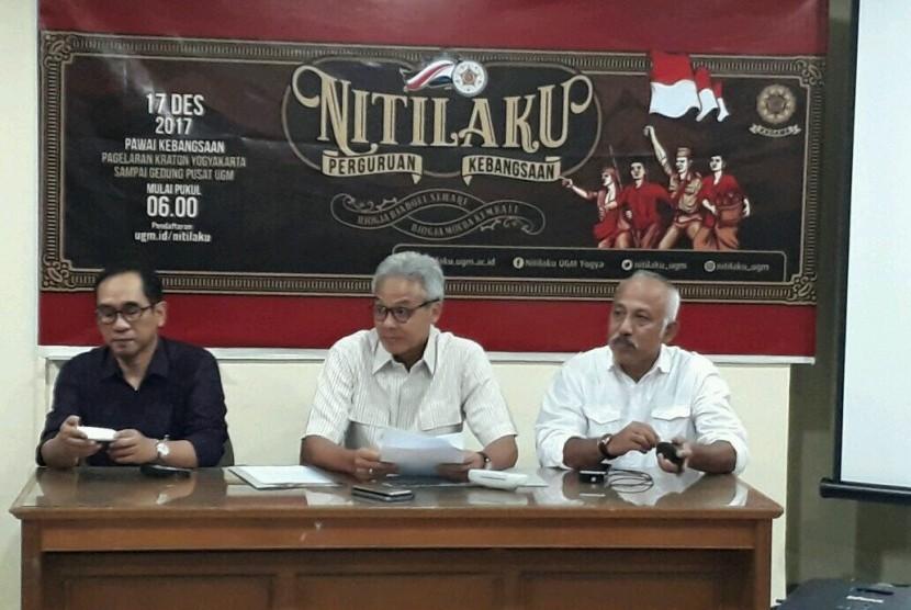 Konferensi pers kegiatan Nitilaku Perguruan Kebangsaan.