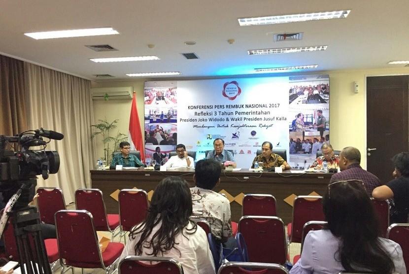 Rembuk Nasional 2017 Evaluasi Capaian Tiga Tahun Jokowi-JK