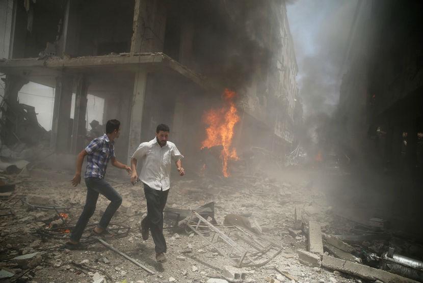 Konflik berkepanjangan landa Suriah.