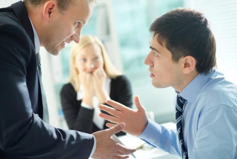 Konflik dengan Bos. ilutrasi