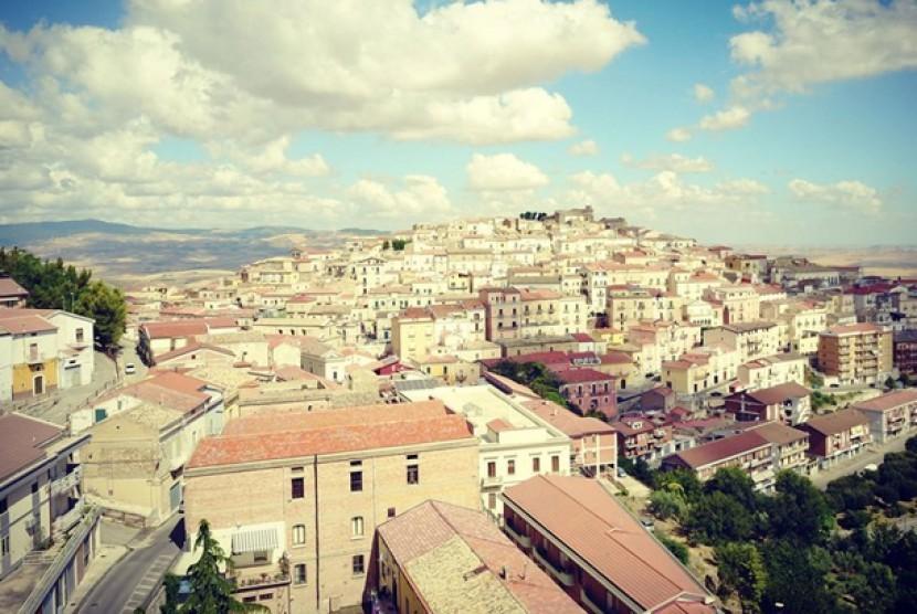 Kota Candela di Italia.