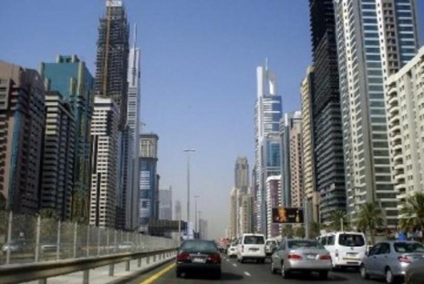 Kota Dubai (ilustrasi)