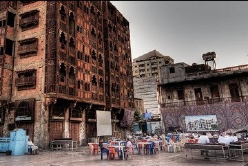 Kota Kuno di Jeddah, salah satu tujuan wisata menarik di Arab Saudi.