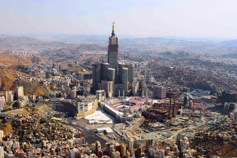 Kota Makkah, Arab Saudi.