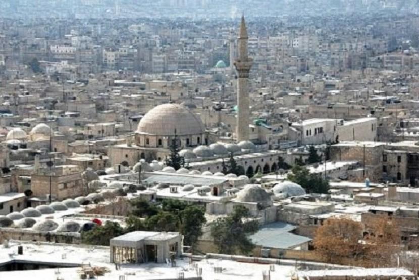 Pasukan Suriah Gempur Aleppo | Republika Online