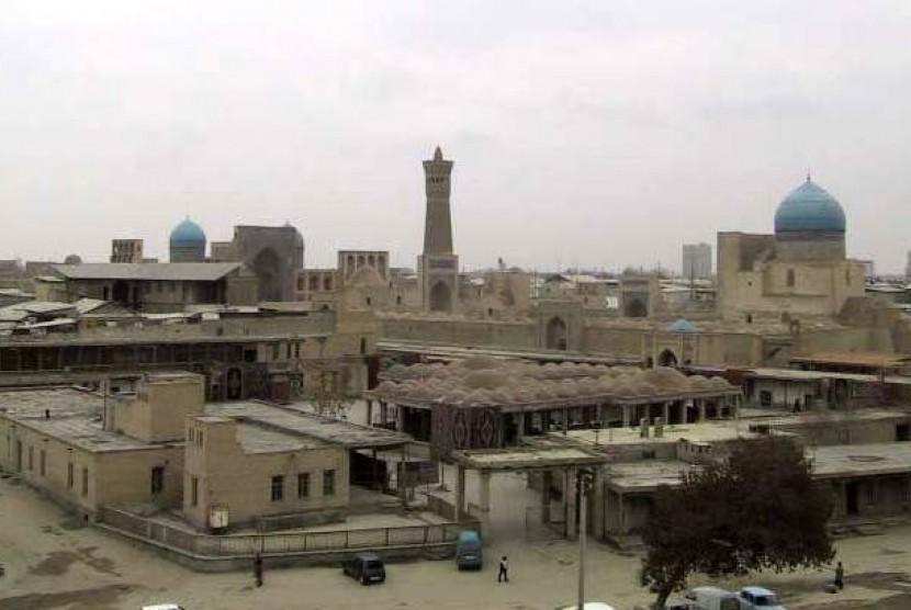 Kota tua Bukhara, Uzbekistran.