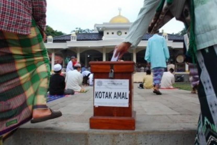 Kotak amal (ilustrasi)