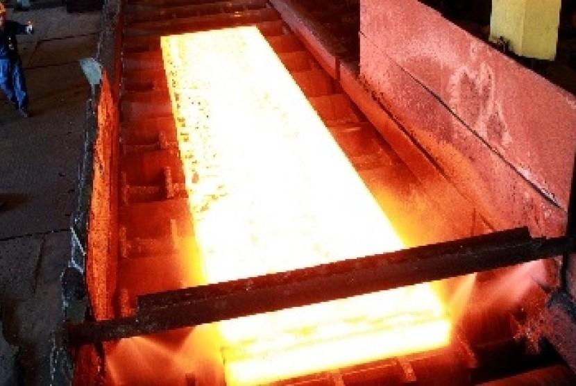 Krakatau Steel Dorong Penggunaan Baja Nasional