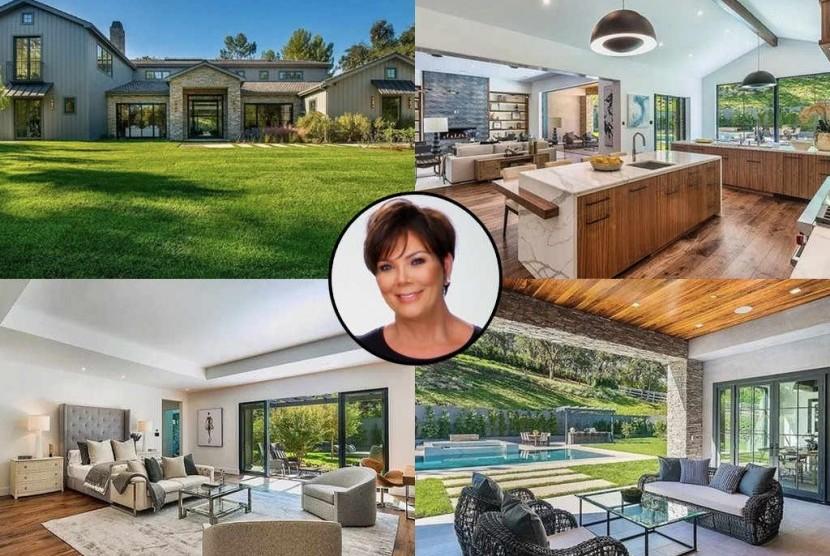 Kris Jenner Beli Rumah Mewah Berdekatan dengan Kim Kardashian