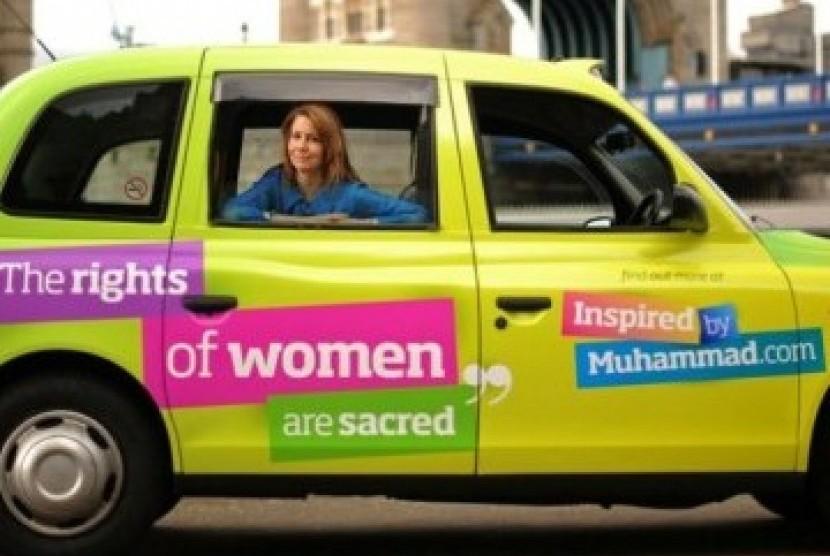 KRISTIANE BACKER menjadi model untuk kampanye anti-Islamophobia (bbc)