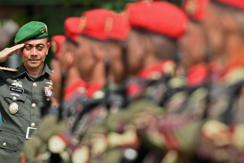 KSAD Jenderal TNI Mulyono.