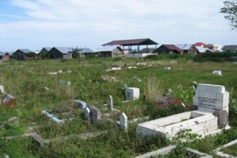Kuburan (ilustrasi)
